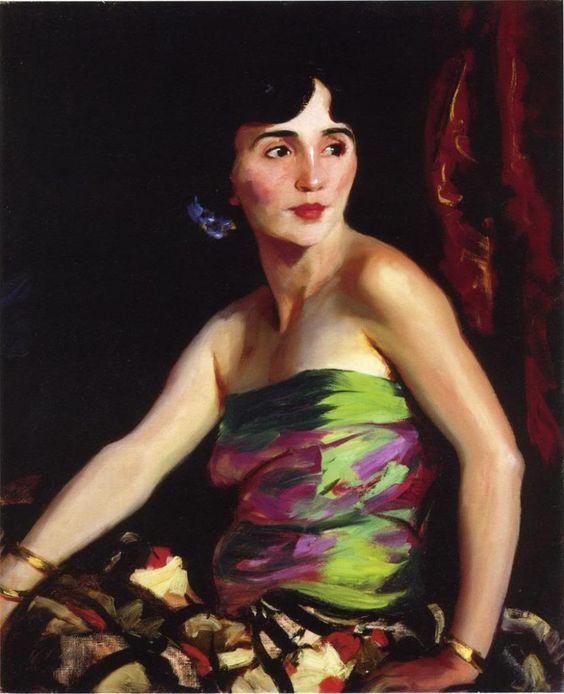 Robert Henri: Isolina Maldonado, Spanish Dancer (1921).