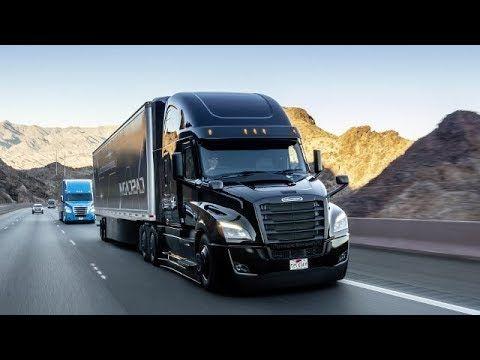 Высокоавтоматизированный грузовик Freightliner Cascadia 2019