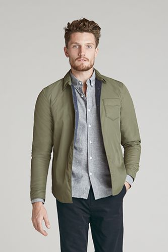 Evolution Shirt Jacket | @Outerknown | men's fashion | Pinterest ...