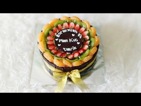 Blackforest Fruity Cake Cake Buah Youtube Cake Fruity Cake Desserts