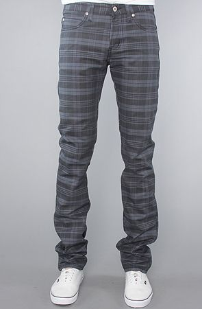 The Skinny Guy Jeans in Check Twill Denim Wash $135