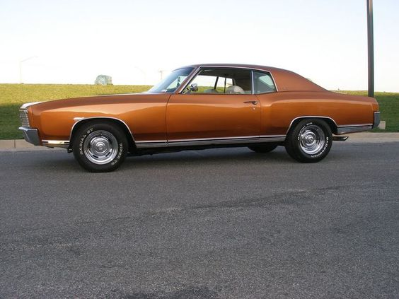 1972 Monte Carlo ., Identical to mine,but just as good of a start for something far more bad ass