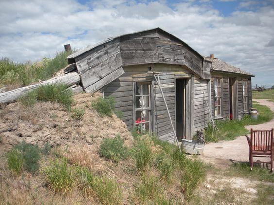 American Dreams at The Prairie Homestead near the Badlands of South Dakota