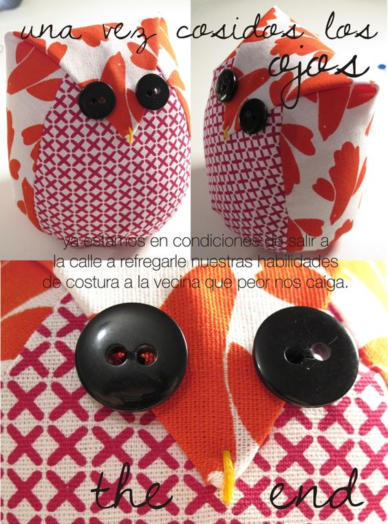 I'm going to have to brush up on my Spanish to make this fat owl.  :)