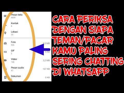 Cara Mengetahui Chatting Pacar Di Whatsapp Youtube Video Pesan Gambar Wajah