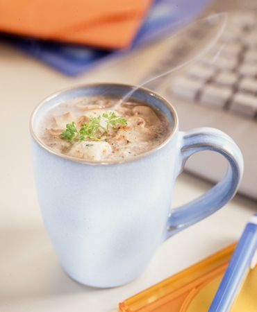 Cream of mushroom soup ¦ Delicooks
