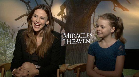 """Jennifer Garner comenta """"Milagres do Paraíso"""""""
