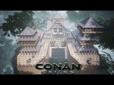 Conan Exiles Yamatai Jungle Temple Speed Build Conan Exiles