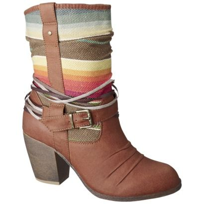 Women's Mossimo® Kalea Boot - > Picked these up the other day. Super cute, but a really high heel.