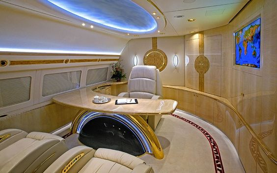 interieurs de jets prives incroyables 4   Intérieurs de jets privés incroyables   photo Nick Gleis luxe jet prive image design avion