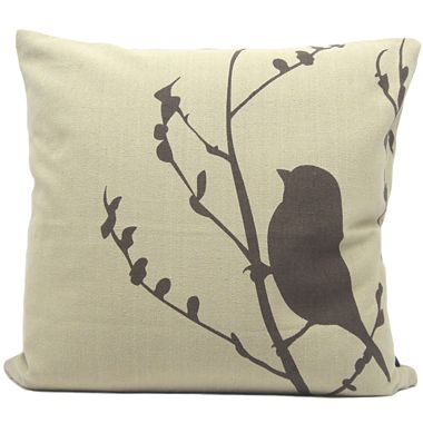 Jcpenney Decorative Throw Pillows : Feathers, Finches and Pillows on Pinterest