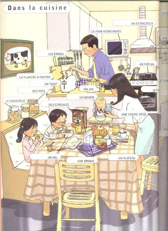 Dans la cuisine l 39 alimentation pinterest cuisines et for Apprendre la cuisine francaise