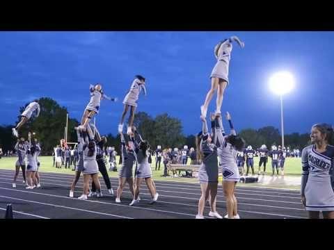 Magruder High School Cheerleaders At Friday Night Football Youtube Friday Night Football Football Youtube Cheerleading