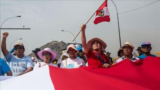 Protests hit Peru after ex-leader pardoned for abuse