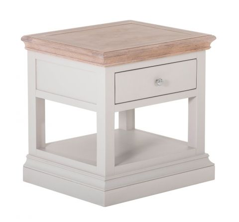 White Painted Lamp Table White Painted Furniture Traditional Furniture Side Table With Storage