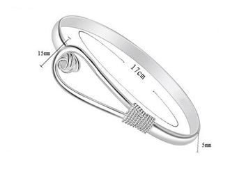 20% OFF 18K White Gold plated Knot Bracelet. NOW $23.95  with free US & Int'l shipping at Myasiatrade.com