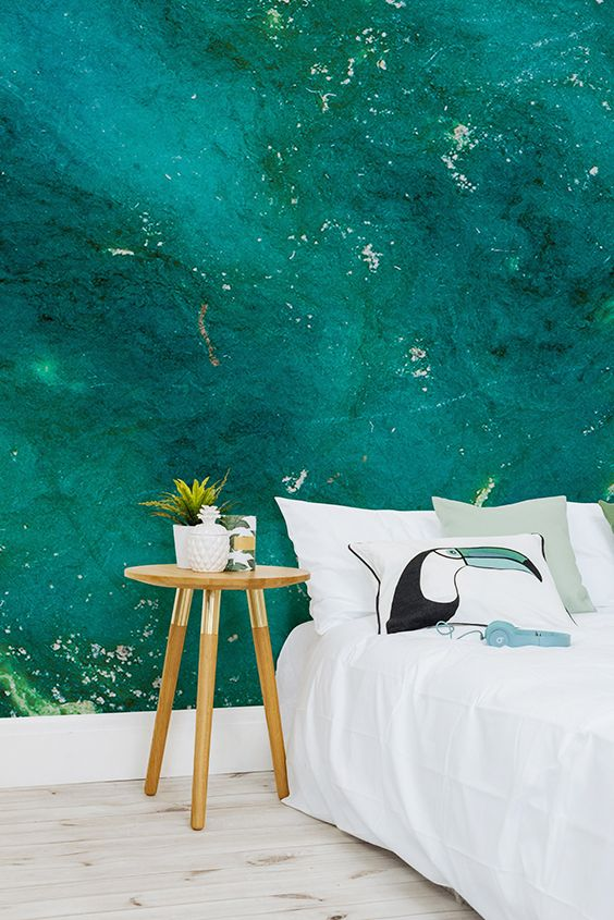 Pinterest the world s catalog of ideas - Turquoise wallpaper for walls ...
