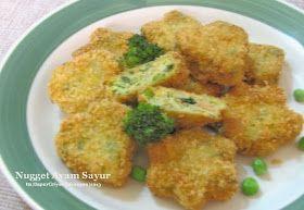 Dapur Griya Khayangan Nugget Ayam Sayur Resep Makanan Pembuka Resep Makanan Makanan Dan Minuman