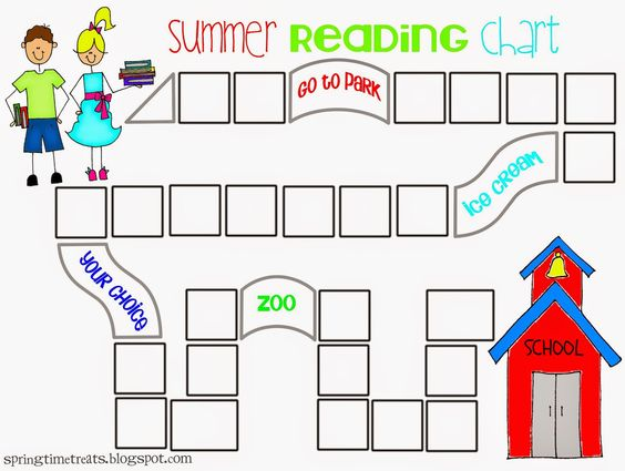 Spring Time Treats: Updated Reading chart - free printable.