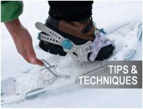 Learn the tips and tricks to snowshoeing!
