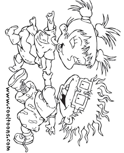 Rugrats Coloring Pages | More Rugrats Coloring Pages | Everything ...