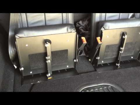 3rd row Jeep Wrangler Unlimited Seating from LittlePassengerSeats - YouTube