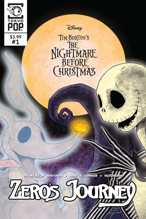 Disney Manga Tim Burton S The Nightmare Before Christmas Zero S Journey Tokyopop Set In The Wo Nightmare Before Christmas Before Christmas Nightmare Before