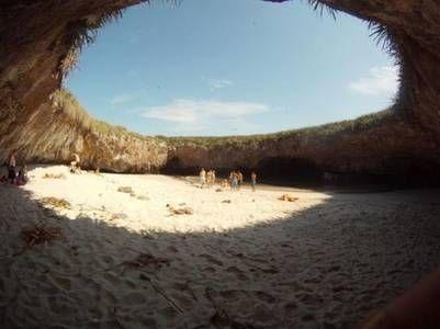Playa escondida, Mexico