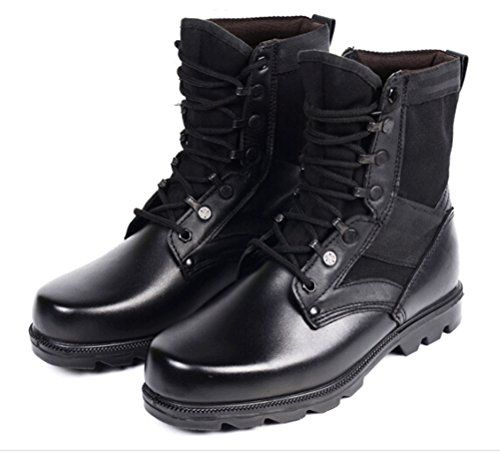 Women 100 Genuine Leather Combat Boots Fashion Hiking Winter Boots ...