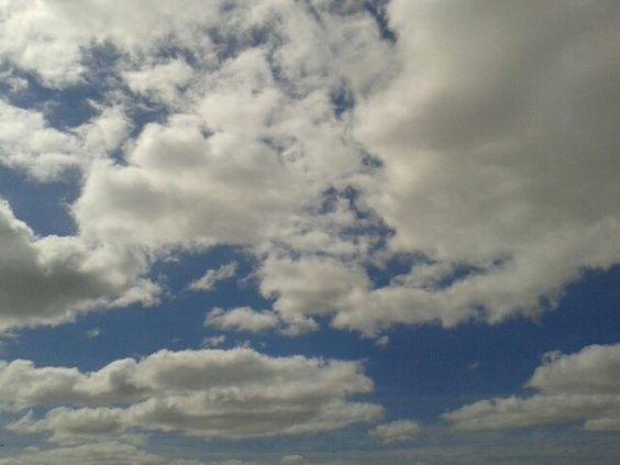 Nubes de domimgo