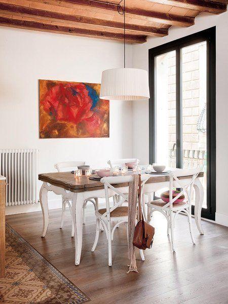 Un piso actual en un edificio del xviii - Decoracion francesa provenzal ...