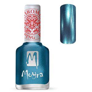 COMING SOON Moyra Stamping Nail Polish- No. 26 (Chrome Blue)