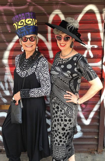 Idiosyncratic Fashionistas: 40+ Style Comes to New York