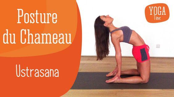 Delphine Bourdet, professeur de Yoga, vous apprend à réaliser la posture du Chameau en Yoga (Ustrasana en sanskrit). Cette posture a de nombreux bienfaits : elle ouvre la cage thoracique, développe la respiration costale, assouplit la colonne vertébrale et renforce les abdominaux.
