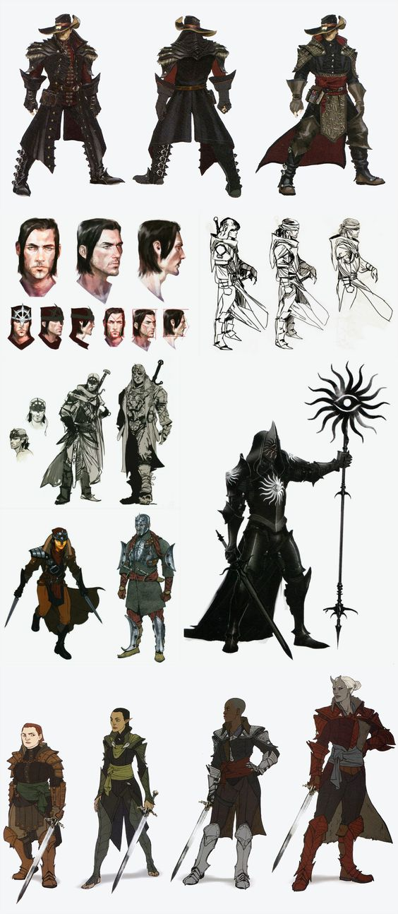 Dragon Age Inquisition Character Design Ideas : Pinterest the world s catalog of ideas