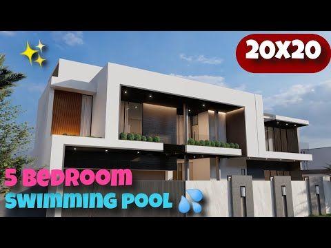 400sqm Modern Luxury House Rumah Modern 20x20 Youtube Luxury House Small House Design Luxury House Designs