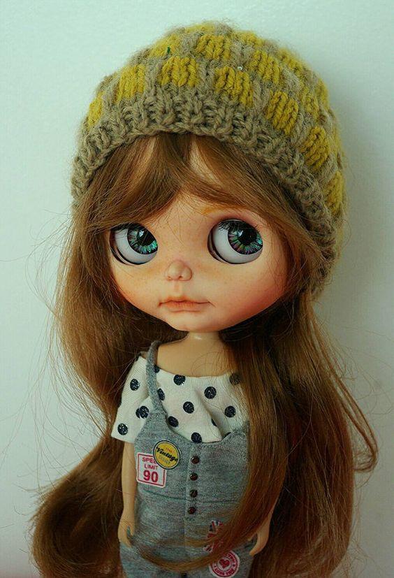 Reserved for Sweetdolfie-Ooak blythe takara custom doll Pomipomari