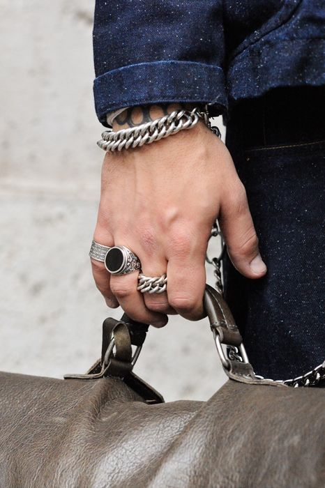 Chains, Chains, Rings & Chains