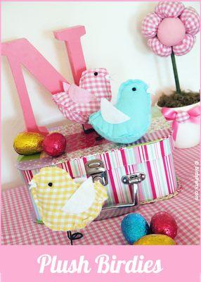 Hopeful Threads: FREE Birdie & Owl Softie Sewing Links!