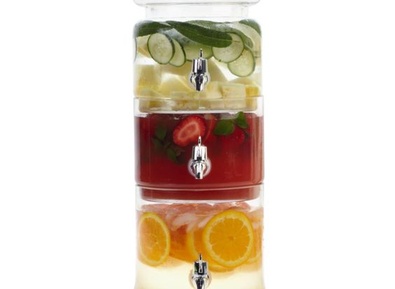 Epic: Drink Dispenser, Kitchen Gadgets, Summer Parties, Flavored Waters, Trio Beverage, Infused Water, Beverage Server, Beverage Dispenser, Party Ideas