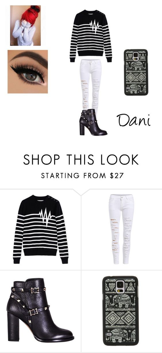 """Untitled #301"" by emmi-princess on Polyvore featuring Each X Other, Valentino and Samsung"