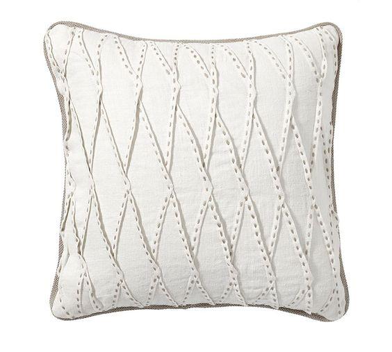 Pinch Pleat Linen Cushion Cover | Pottery Barn AU
