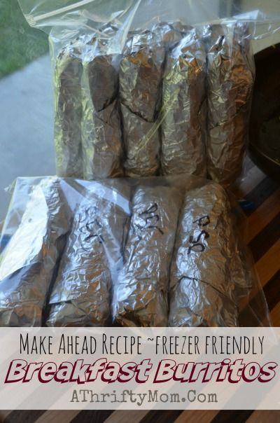 Freezer Freindly Breakfast Ideascamping Menu Recipe Ideas Burritos Made On The Campfire Camping Hacks For Outdoor Coo