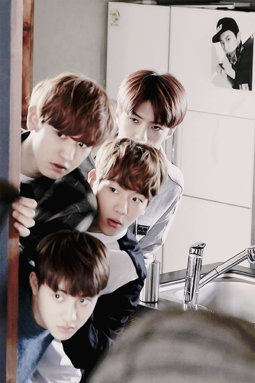 EXO NEXT DOOR | behind the scenes preview photos~: