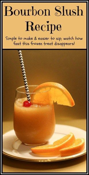 Bourbon Slush Recipe