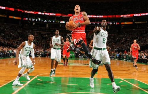 VIDEOS & Stats: Chicago Bulls vs. Boston Celtics (Derrick Rose, 25 Pts vs. Ray Allen, 16 Pts), Jan. 13, 2012 & D-Rose Interview