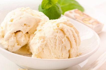 Soft serve banana ice cream--made only from a banana! So healthy and YUMMY