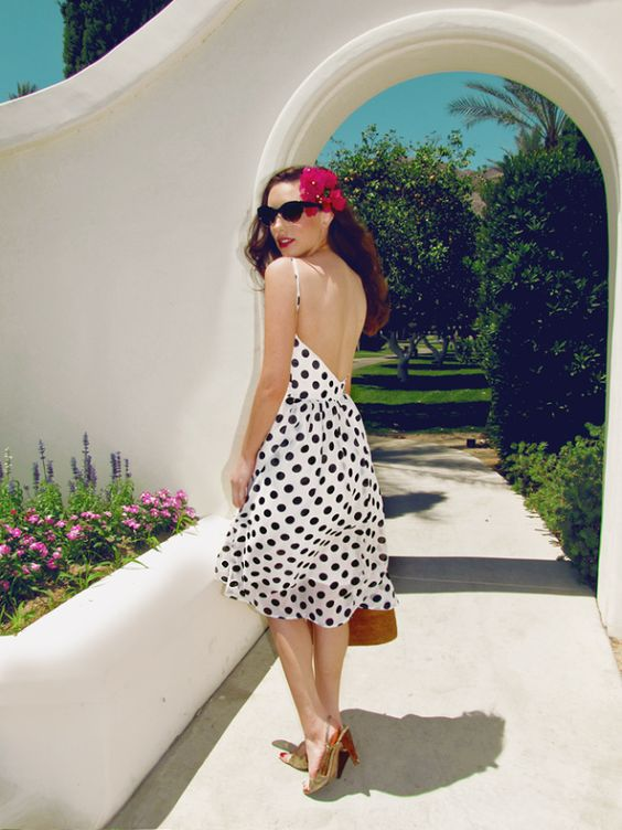 """POLKA DOTS & PALM SPRINGS 