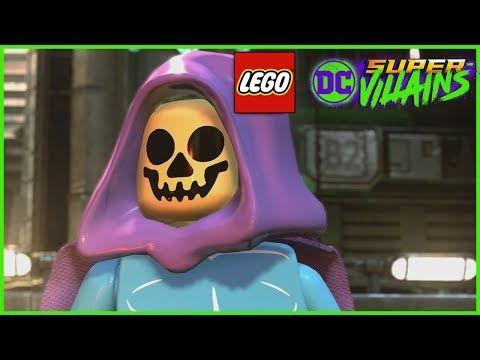 Lego Dc Super Villains How To Make A Custom Character Youtube Lego Dc Super Villains Lego Batman 3