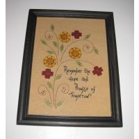 Hope and Promise Stitchery